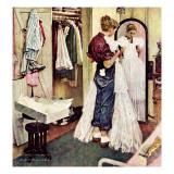"""Prom Dress"", March 19,1949 Giclée par Norman Rockwell"