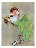 """Diary"", June 17,1933 Giclée par Norman Rockwell"