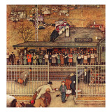 &quot;Commuters&quot; (waiting at Crestwood train station)  November 16 1946