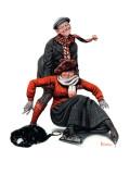 """""""Skating Lesson""""  February 7 1920"""