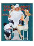 """Full Treatment"" Saturday Evening Post Cover  May 18 1940"