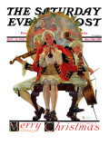 """Three Victorian Musicians"" Saturday Evening Post Cover  December 12 1931"
