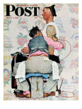 &quot;Tattoo Artist&quot; Saturday Evening Post Cover  March 4 1944