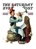 &quot;Trumpeter&quot; Saturday Evening Post Cover  November 7 1931