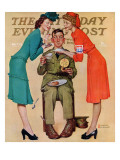 """Willie Gillis at the USO"" Saturday Evening Post Cover  February 7 1942"