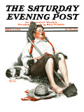 """Lazybones"" Saturday Evening Post Cover  September 6 1919"