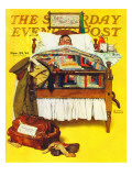 """Willie Gillis Home on Leave"" Saturday Evening Post Cover  November 29 1941"