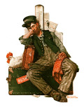 &quot;Asleep on the Job&quot;  August 29 1925