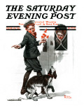 """Three's Company"" Saturday Evening Post Cover  June 19 1920"