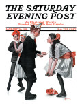 """Pardon Me"" Saturday Evening Post Cover  January 26 1918"