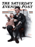 """Portrait"" Saturday Evening Post Cover  July 9 1921"
