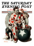 &quot;Between the Acts&quot; Saturday Evening Post Cover  May 26 1923