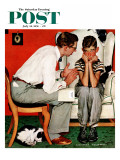 &quot;Facts of Life&quot; Saturday Evening Post Cover  July 14 1951