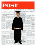 """Graduate"" Saturday Evening Post Cover  June 6 1959"