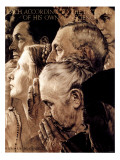 """Freedom of Worship"", February 27,1943 Giclée par Norman Rockwell"