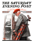 """""""Important Business"""" Saturday Evening Post Cover, September 20,1919 Giclée par Norman Rockwell"""