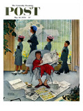 """Sunday Morning"" Saturday Evening Post Cover  May 16 1959"