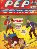 Archie Comics Retro: Pep Comic Book Cover 43 (Aged)