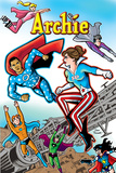 Archie Comics Cover: Archie 616 Barack Obama and Sarah Palin Campaign Pains Part 1 (Variant)
