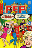 Archie Comics Retro: Pep Comic Book Cover No313 (Aged)
