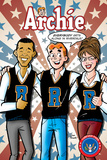 Archie Comics Cover: Archie 617 Barack Obama and Sarah Palin Campaign Pains Part 2