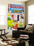 Archie Comics Retro: Sabrina the Teen-age Witch Comic Book Cover No4 featuring The Archies (Aged)