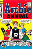Archie Comics Retro: Archie Annual Comic Book Cover 10th Issue (Aged)