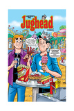 Archie Comics Cover: Jughead No195 Carnival Food