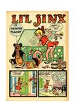 Archie Comics Retro: Li'l Jinx Comic Book Page Operation Dalmatian (Aged)