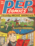 Archie Comics Retro: Pep Comic Book Cover 49 (Aged)