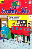 Archie Comics Retro: Archie and Me Comic Book Cover No9 (Aged)