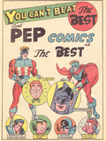 Archie Comics Retro: Pep comics Advertisement (Aged)