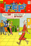 Archie Comics Retro: Pep Comic Book Cover 248 (Aged)
