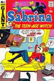 Archie Comics Retro: Sabrina the Teen-age Witch Comic Book Cover 1 (Aged)