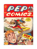 Archie Comics Retro: Pep Comic Book Cover No47 (Aged)
