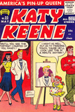 Archie Comics Retro: Katy Keene Comic Book Cover No22 (Aged)