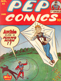 Archie Comics Retro: Pep Comic Book Cover 45 (Aged)
