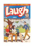 Archie Comics Retro: Laugh Comic Book Cover No25 (Aged)