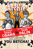 Archie Comics Cover: Archie 617 Barack Obama and Sarah Palin Campaign Pains Part 2 (Variant)