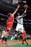 Chicago Bulls v Boston Celtics: Kevin Garnett and Joakim Noah