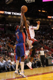 Detroit Pistons v Miami Heat: Dwyane Wade and Ben Wallace