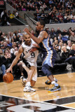 Memphis Grizzlies v San Antonio Spurs: Tony Parker and OJ Mayo