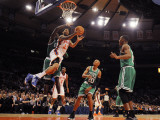 Boston Celtics v New York Knicks: Wilson Chandler and Kevin Garnett