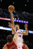 Chicago Bulls v Phoenix Suns: Hedo Turkoglu and Kyle Korver