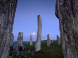 The Callanish Stones at Moonrise