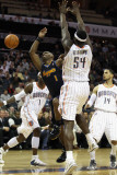 Denver Nuggets v Charlotte Bobcats: Chauncey Billups and Kwame Brown