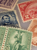 Classic United States Postage Stamps