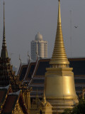 A Skyscraper Behind the Grand Palace