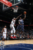 Charlotte Bobcats v Atlanta Hawks: Tyrus Thomas and Josh Smith