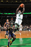 Indiana Pacers v Boston Celtics: Nate Robinson and Darren Collison